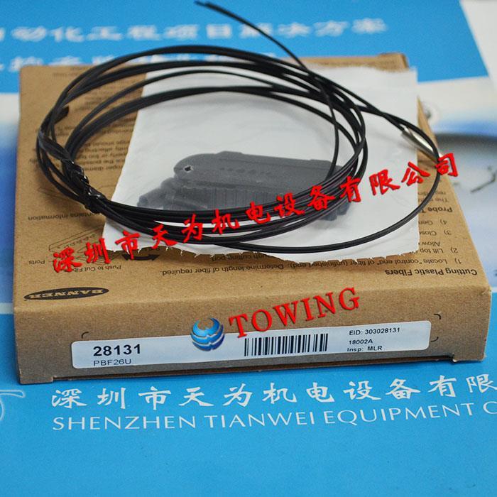 美国BANNER邦纳光纤传感器PBF26U
