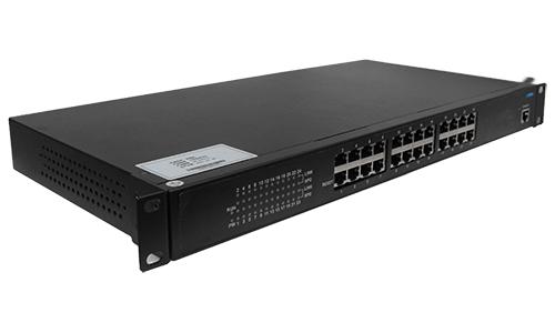 BM-IES24工业交换机24口工业交换机终端互联通讯链路