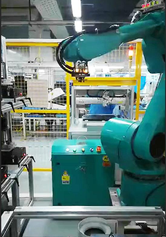 CCD视觉引导机器人定位抓取摆放
