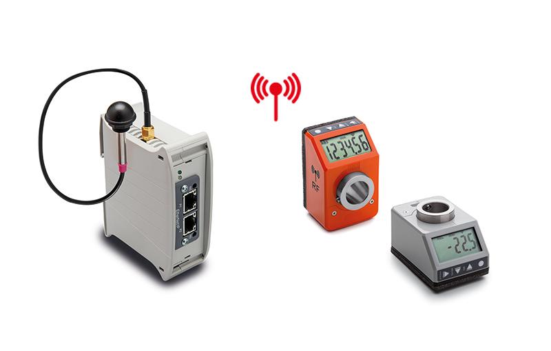 电子位置指示器:射频联网 无线定位