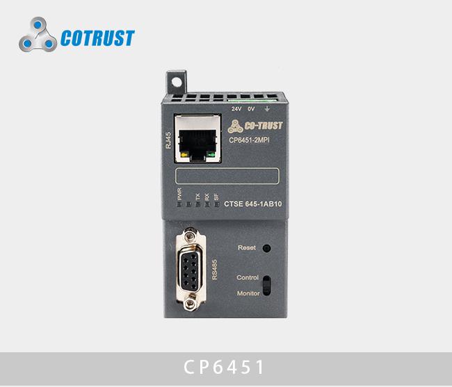 工业以太网模块,CP6451-1MPI,1*PLC/8*PLC(645-1AA10、645-1AB10)