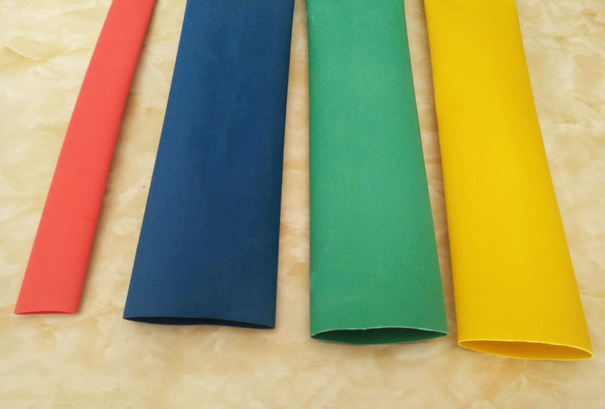 3-4倍环保彩色带胶双壁热缩套管