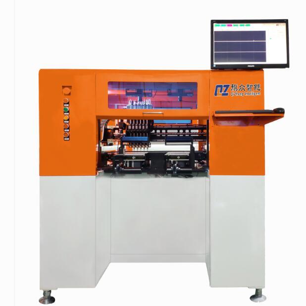 全自动精密辅料贴装机 六头电子手机辅料贴合机 FPC辅材贴装设备