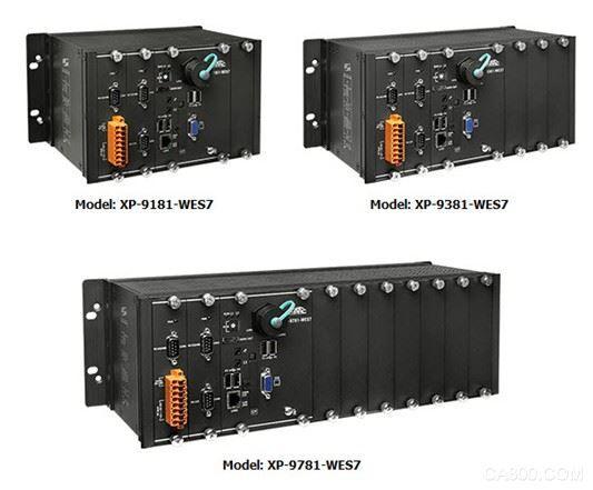 泓格WES7系統PAC新產品上市: XP-9181-WES7, XP-9381-WES7, XP-9781-WES7