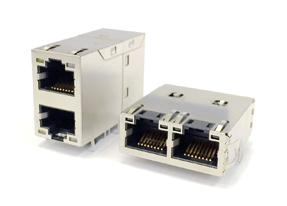 1000 Base-T RJ-45网络连接器模块