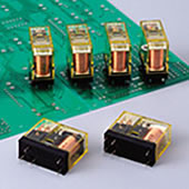 RJ系列 : 薄型功率继电器 PCB 端子型