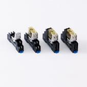 SJ系列 : 继电器插座(文字记名板对应型)