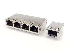 2.5G/5G Base-T RJ-45网络连接器模块