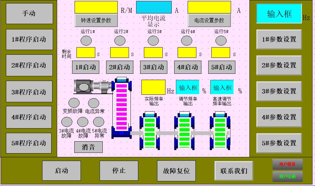 管桩离心机自动控制系统