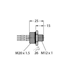 FSV 49-0.3M/M20/C1117