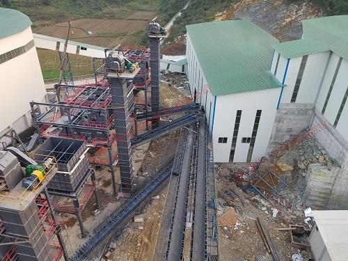 骨料沙石PLC(DCS)监控系统
