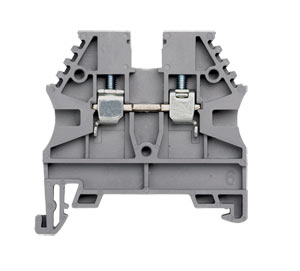 DIN Rail Terminal Blocks, Feed Through and Ground Terminals