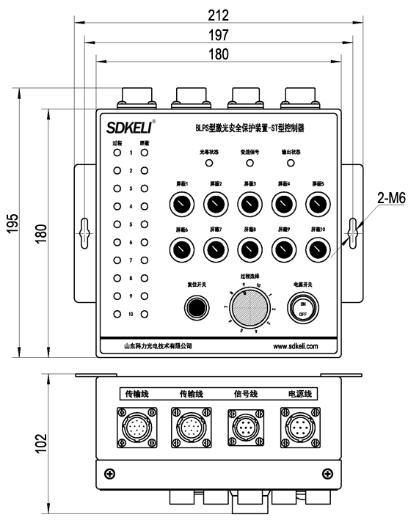 ST控制器尺寸图