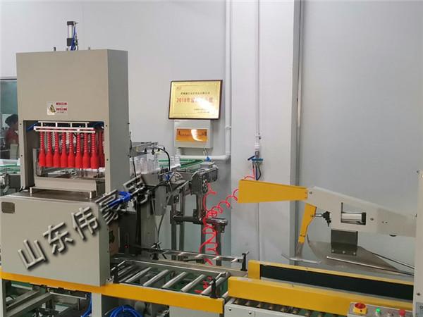 塑料瓶自动装箱码垛线 自动装箱机生产厂家