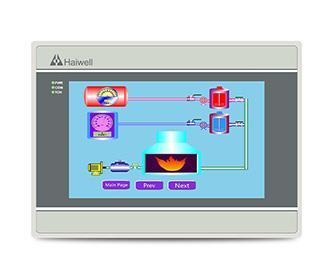 Haiwell海为物联云HMI 7寸高速版人机界面