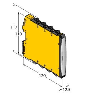 圖爾克IMX12-DI03-1S-1NAM1R-0/24VDC