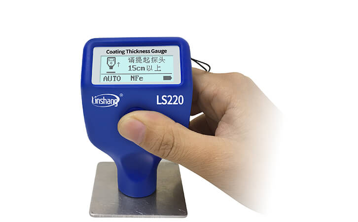 林上LS220H电镀测厚仪的实际应用