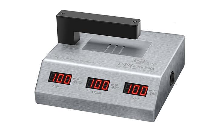 LS108光学透过率测量仪测量材料透光率