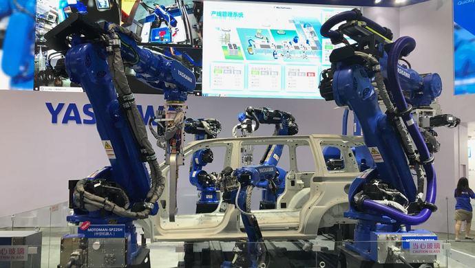 中国市场工业机器人销量首次下滑,但自主品牌保持稳定增长