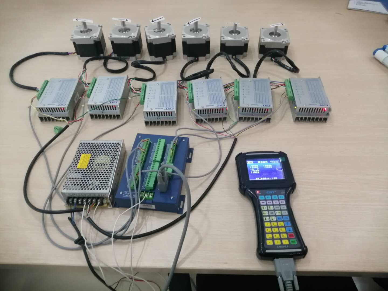 六轴运动控制器示教系统