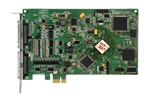 泓格24位高精度力傳感器PCI Express接口輸入卡:PCIe-LM4