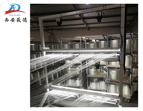 西安获德玻璃钢生产线纤维缺陷检测系统