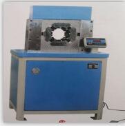 鸿源SK-100数控胶管锁管机2-3英寸胶管扣压机