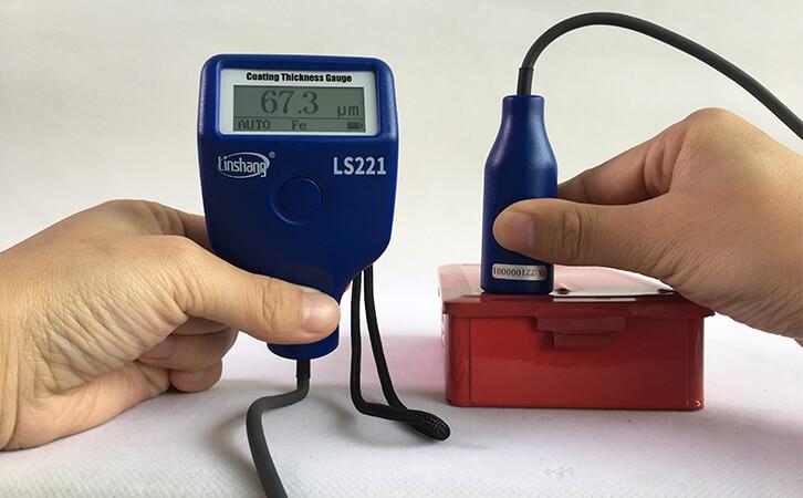干膜测厚仪测量油漆