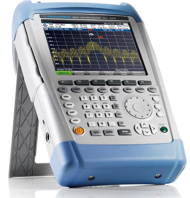 罗德与施瓦茨FSH20手持频谱分析仪