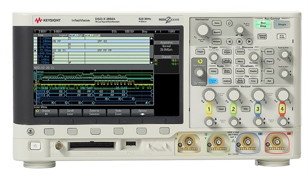 仪信DSOX3054A 混合信号示波器