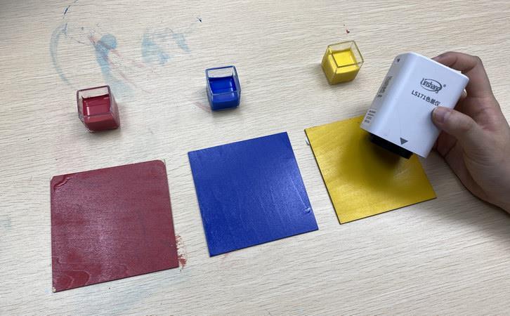 色差仪测量纸张色差
