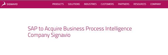 增强智能自动化能力 SAP收购RPA企业Signavio