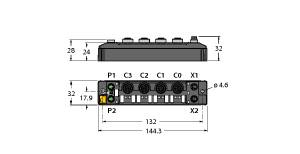 TBEN-S2-2COM-4DXP
