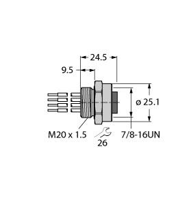 RKFV 48-0.3M/M20/C1117