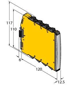 IMX12-DO01-2U-2U-PR/24VDC