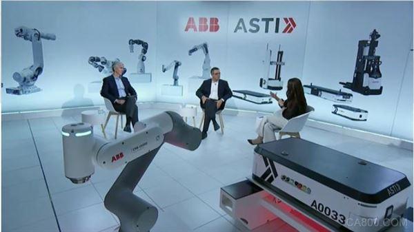 ABB宣布收购ASTI AMR业务整合后将以ABB品牌面世